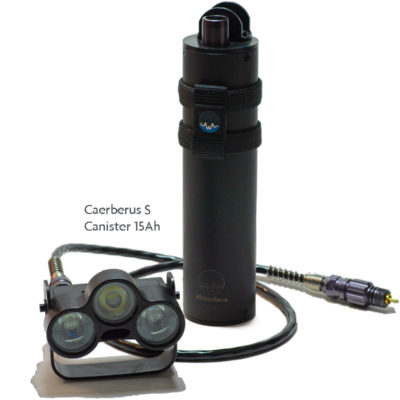Caerberus S and Canister 15Ah